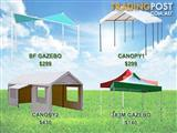 Outdoor furnitures umbrella gazebo canopy fence tent marquee
