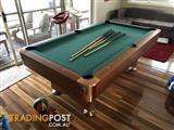 Slate Top Pub Style Pool Table