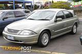 2002 FORD FALCON FUTURA AUIII Sedan