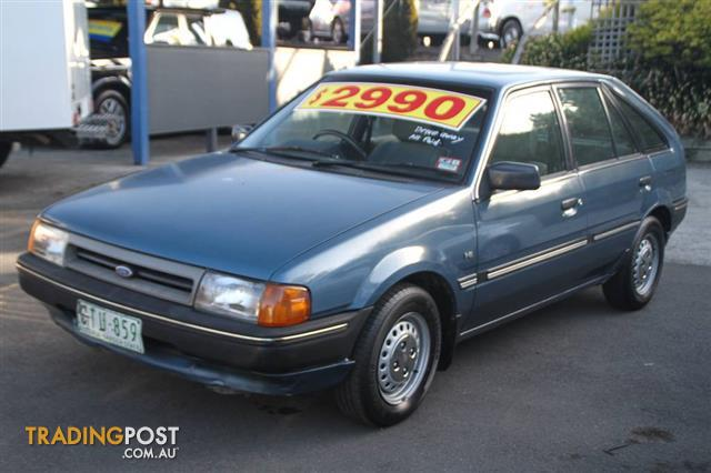 1986 ford laser gl kc 5d hatchback for sale in ringwood. Black Bedroom Furniture Sets. Home Design Ideas