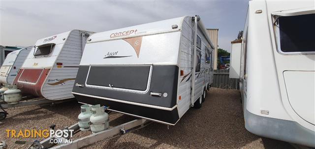 2005 17' Concept Ascot Tandem