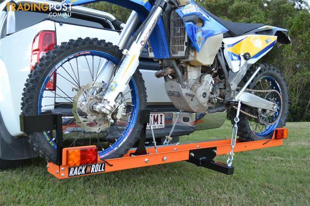 Rack N Roll Motorcycle Carrier 100 Australian Made