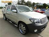 2006 Toyota Hilux Workmate TGN16R Dual Cab Pick-up