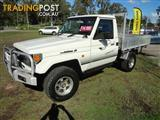 1998 Toyota Landcruiser (4x4) FZJ75RP Cab Chassis