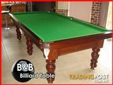 9FT  Pool/Snooker Table ( Slate)  With Accessories and Overhead Light ( B&B Billiards )