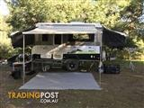 2013 Jayco Swan Outback Off Road Camper with External shower, air-cond