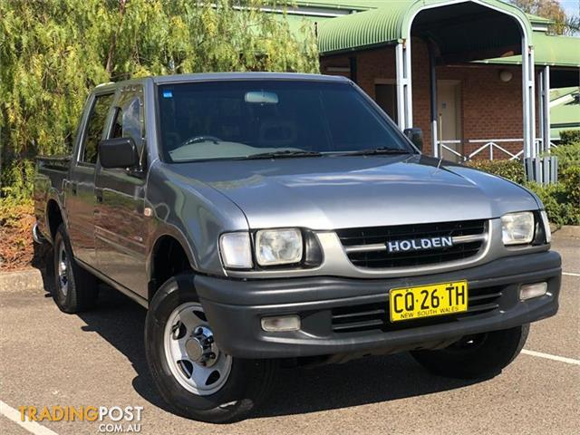 2001 Holden Rodeo Lt Tf Utility