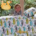 Cot Doona Covers and Matching Pillow Slips