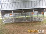 Large 4 bay bird Aviary.
