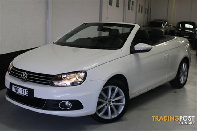 2011 volkswagen eos 155tsi 1f convertible for sale in west melbourne vic 2011 volkswagen eos. Black Bedroom Furniture Sets. Home Design Ideas
