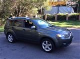 2008 MITSUBISHI OUTLANDER VR LIMITED EDITION (7 SEAT) ZG MY08 4D WAGON