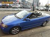 2003 HOLDEN ASTRA CONVERTIBLE COUPE  CONVERTIBLE