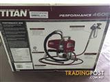 Titan Airless Spray Gun performance 460e