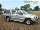 2001 MAZDA B2500 BRAVO DX (4x4) DUAL CAB P/UP