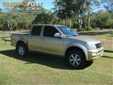 2005 HOLDEN RODEO LT RA MY06 UPGRADE CREW CAB P/UP
