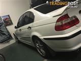 2002 BMW 3 18i EXECUTIVE E46 4D SEDAN