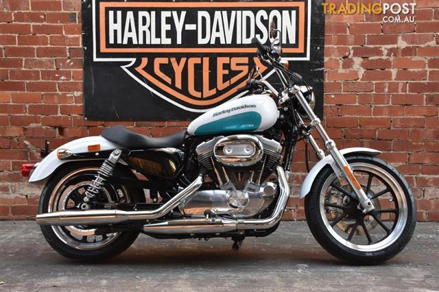 2015 HARLEY-DAVIDSON XL883L SUPER LOW 883CC MY16 CRUISER