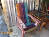 Multicoloured Super Comfy Deckchair