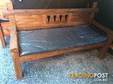 Bench Seat with Hearts