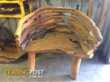 Hand crafted Teak Chair