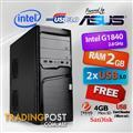 Powerd By ASUS PC Celeron G1840 Dual Core / 2GB RAM