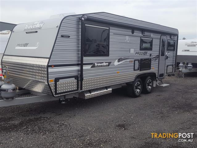 "2017 Traveller 23'6ft Prodigy caravan     ""RUN OUT SALE!!!"""