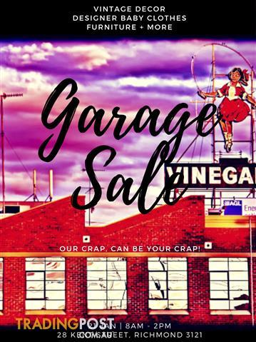 Richmond Garage Sale