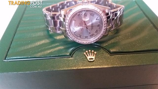 Rolex daydate  special edition master piece  18946 roman dial