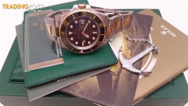 rolex  oyster  perpetual submariner  116610LN  genuine authentic