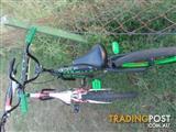 2 quality child kids mountain push BMX bike bicycle AS NEW