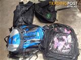 Assorted traveling school computer shoulder bag backpack-great