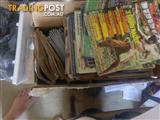 large collection old blitz , A. fighting arts , black belt magazines