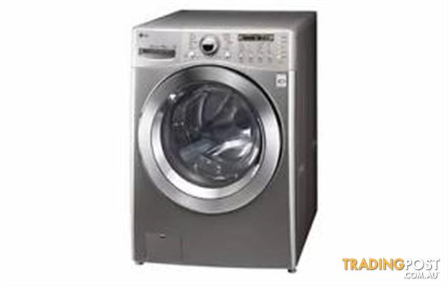 Lg 10kg Stainless King Size Front Load Washing Machine
