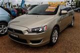 2011  Mitsubishi Lancer CJ ES Sportback 5dr CVT 6sp 2.0i [MY11]  Hatchback