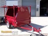 tradesman trailers builttuff