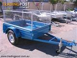trailers with mesh