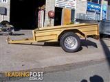 7x4 box trailer