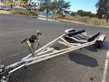 1999 aluminum boat trailer suit 5 to 7m boats