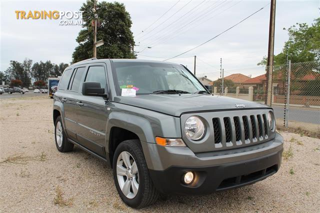 13 JEEP PATRIOT MK MY14 4D WAGON
