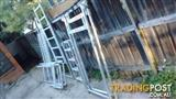 Scaffold aluminium for stairwells, plus extras.