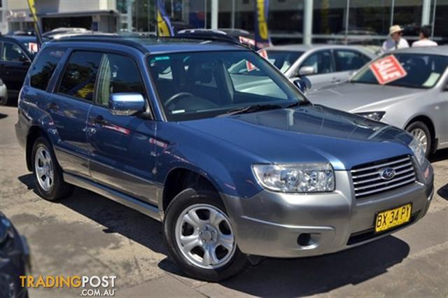 2006 subaru forester x awd luxury 79v my07 for sale in. Black Bedroom Furniture Sets. Home Design Ideas