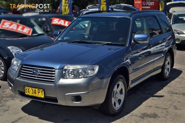 2006 subaru forester x awd luxury 79v my07 for sale in sutherland nsw 2006 subaru forester x. Black Bedroom Furniture Sets. Home Design Ideas