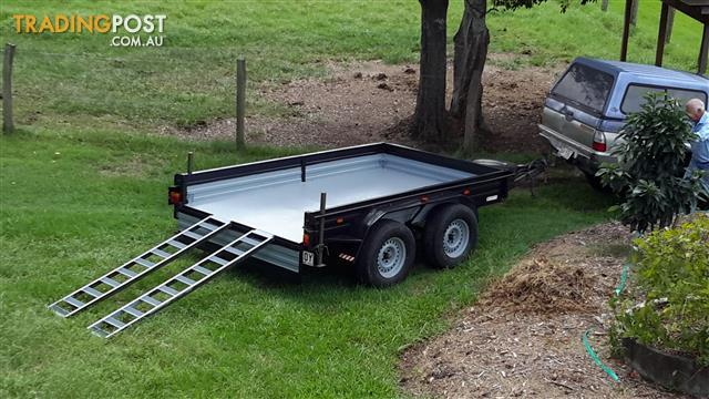 2008 NATHAN 10 X 6 FT TANDEM AXLE TRAILER - PRICE $2995 (Reduced )