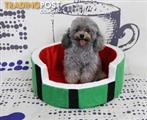 STYLISH WATERMELON SHAPE PET KENNEL, CRATE, BED FOR YOUR FURRY FRIENDS