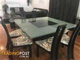 8 seater formal dining setting
