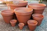 Box of 50 x 4cm Outdoor Garden Plant Small Italian Terracotta Pot