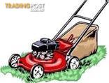 Second hand lawnmowers with warranty from $150. Also repair and service lawnmowers