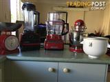 KitchenAid Mixer, Kitchen Aid Exact Slice Processor, Vitamix