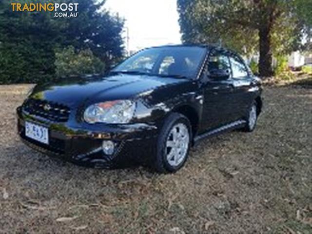 2003 SUBARU IMPREZA RX (AWD) MY03 4D SEDAN