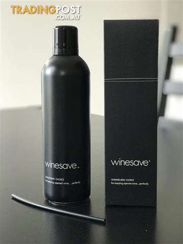 winesave, wine preserver, new and unopened in box